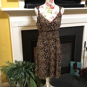 BCBG MAXAZARIA Animal Print Dress
